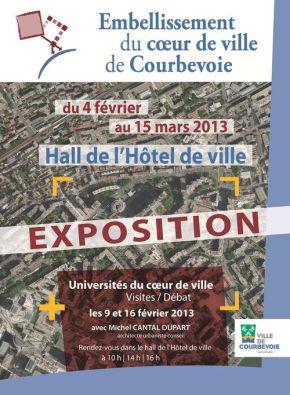 Exposition «Coeur de Ville» du 4 février au 15 mars2013