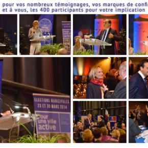 Plus de 400 personnes présentes à la réunion publique Kossowski 2014 du 16janvier
