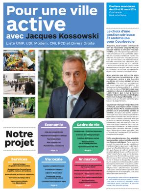 Téléchargez le projet «Pour une ville active avec Jacques Kossowski»