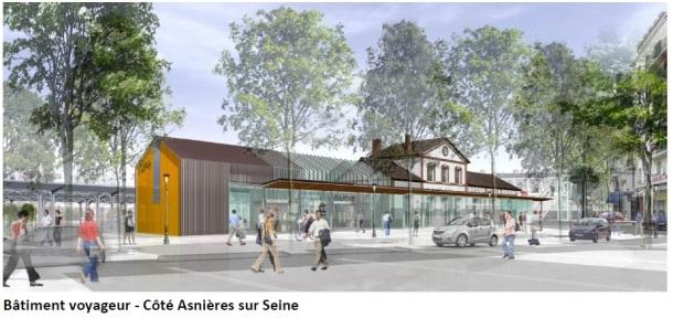 BV Asnières Gare de Bécon