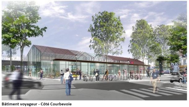 BV Courbevoie Gare de Bécon