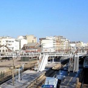 Les travaux de la passerelle de la gare de Bécon ontdébuté