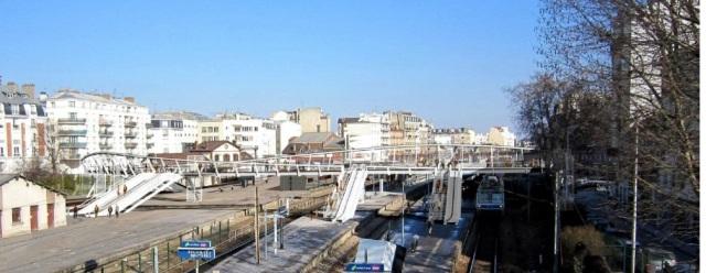 Passerelle Gare de Bécon