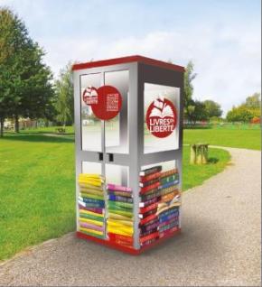 Des bibliothèques de rue àRueil-Malmaison