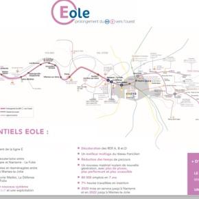 Informations sur les travaux du RER E – avenueGambetta