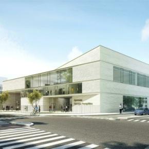 La Région soutient la ville de Courbevoie pour la construction du gymnasePompidou